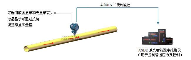 SISEN工业型压力变送器系统展示