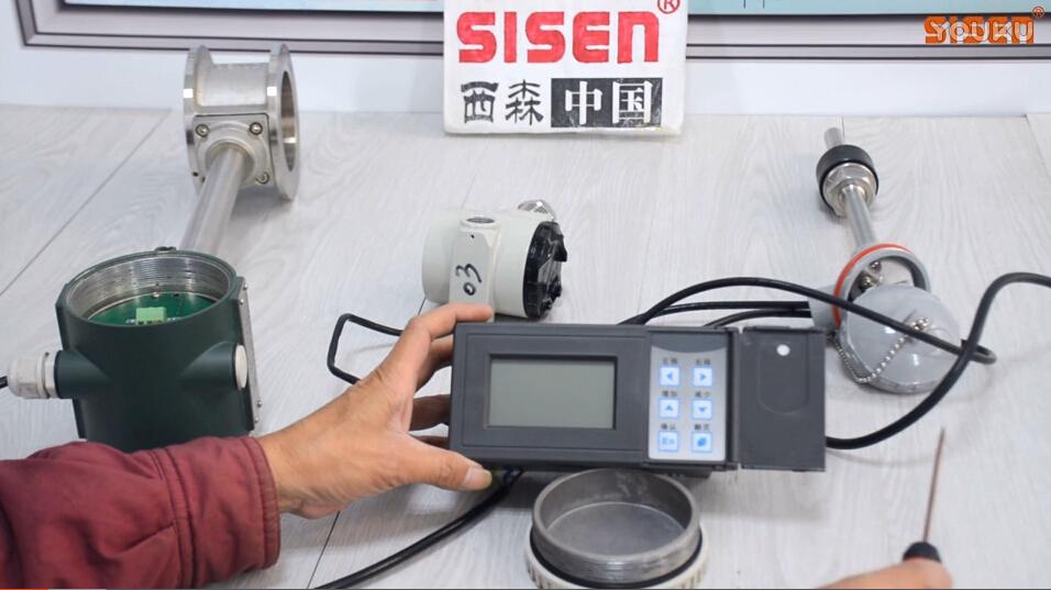 视频:蒸汽计量系统+A4款流量积算仪 接线方式