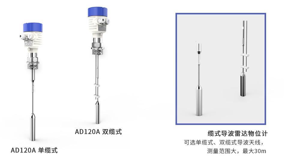 西森AD120缆式导波雷达物位计厂家