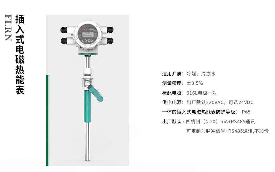 FLRN 系列插入式电磁热能表-厂家