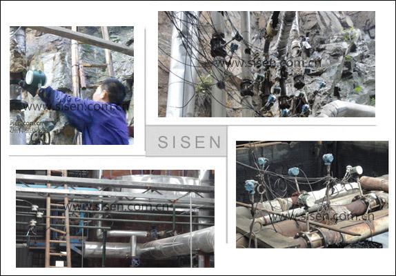 SISEN饱和蒸汽计量系统在现场