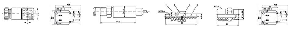 小型压力变送器工艺图