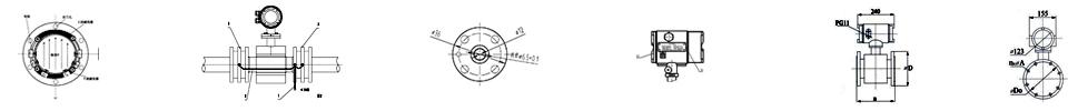电磁流量计工艺图